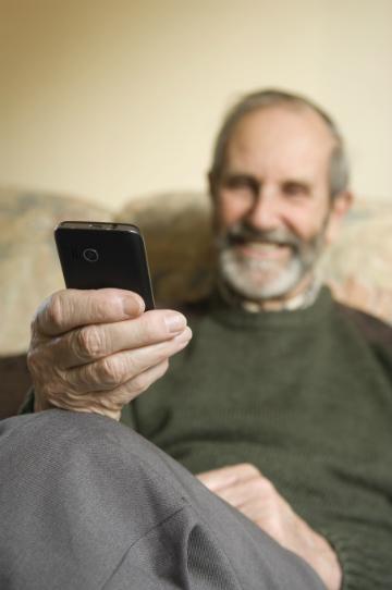 Pai com Smartphone