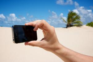 iPhone seguro nas férias