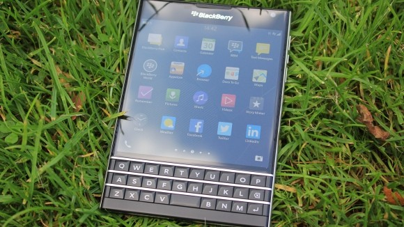 Blackberry Passport tela e protecao