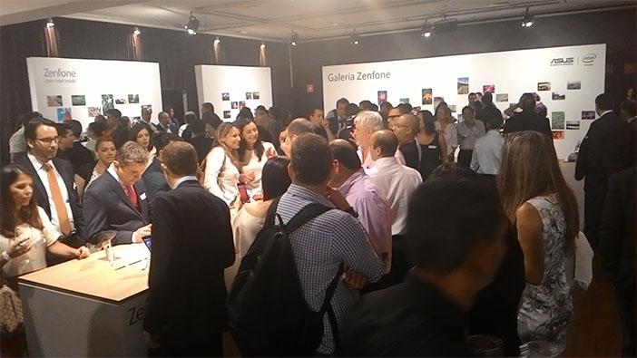 convidados conhecem o ZenFone após lançamento