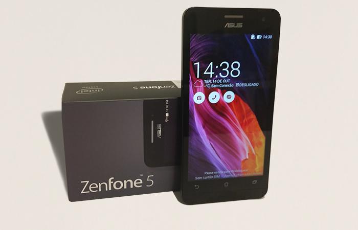 ZenFone 5 não apresenta lentidão e tem interface atrativa
