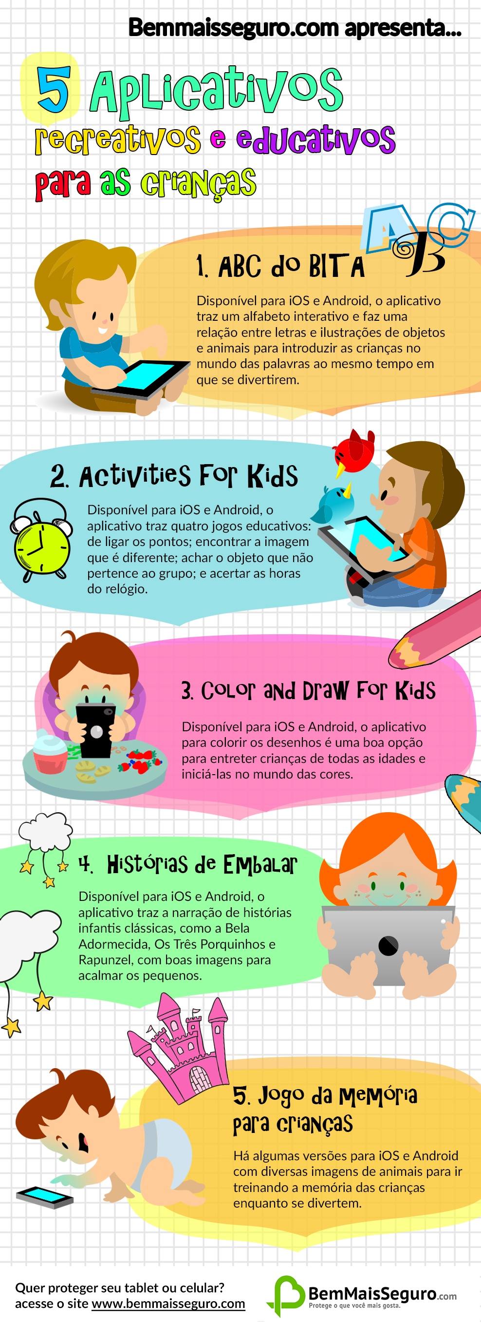 jogos infantis educativos - infográfico