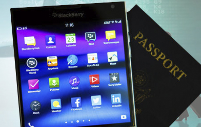 capa blackberry passport