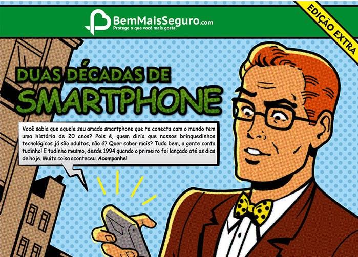 infografico duas decadas de smartphone