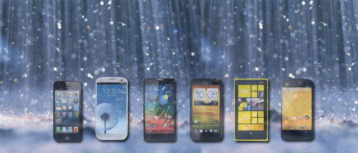 Proteja seu smartphone das chuvas com nossas dicas.