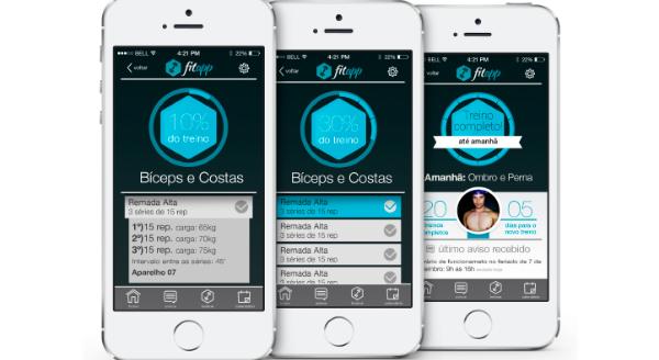 imagem do app fitapp
