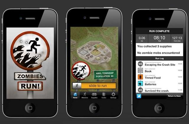 zombies run APP Bemmaisseguro.com