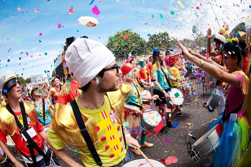 Bloco de carnaval de rua