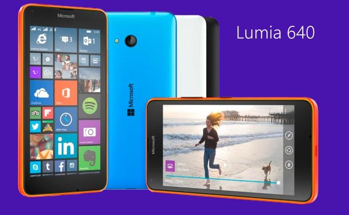 Microsoft Lumia -  Mobile Word Congress 2015