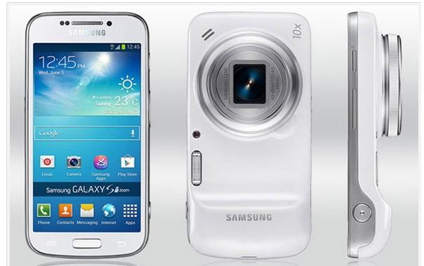 Galaxy K Zoom - 10 melhores smartphones para selfies
