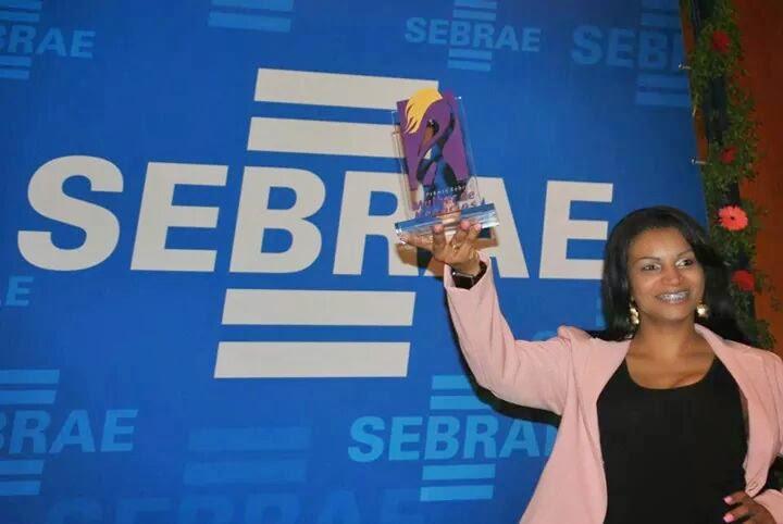 Premiação do Sebrae - Agda Oliver