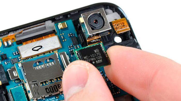 processador de smartphone um coração