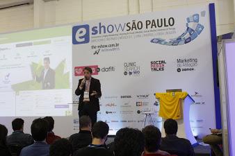 Marcello Ursini comentando sobre os desafios de vender produtos online