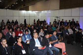 Público presente na palestra da Bem Mais Seguro no Eshow