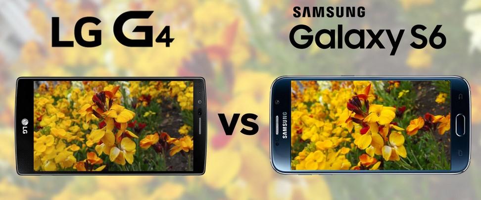 LG G4 e Samsung Galaxy S6 - teste de câmera