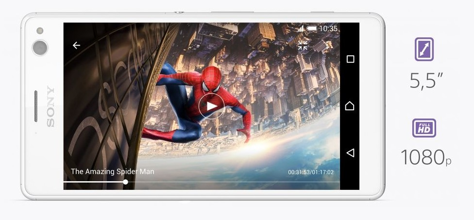 Smartphone-Sony-Xperia-C4-tela-e-boa-qualidade