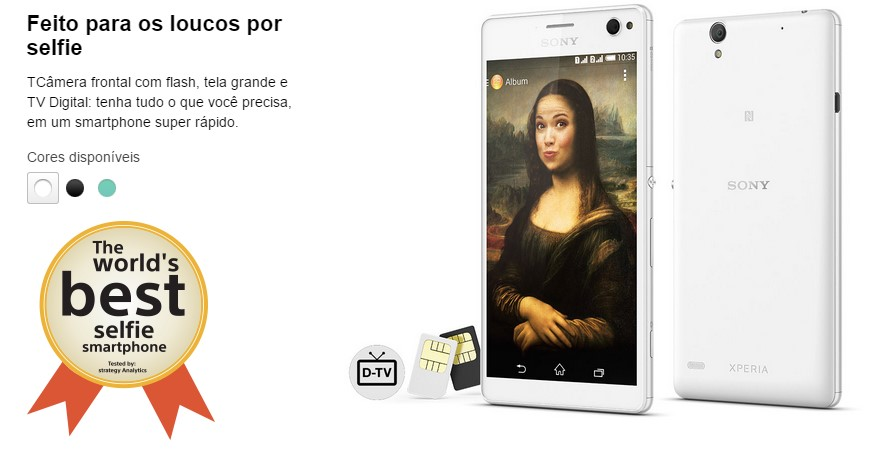 Smartphone Sony Xperia C4