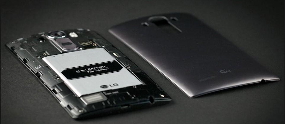 bateria LG G4, melhor desempenho