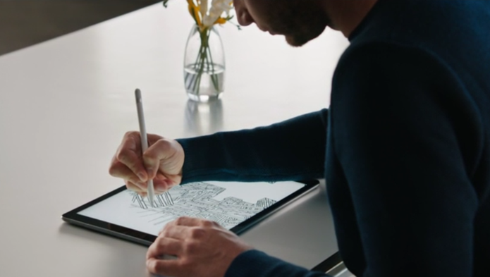 iPad e Apple Pencil