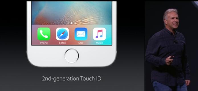 iPhone 6 e iPhone 6S plus com sensor digitais