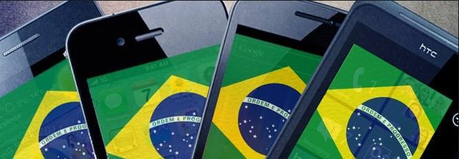 smartphone no Brasil