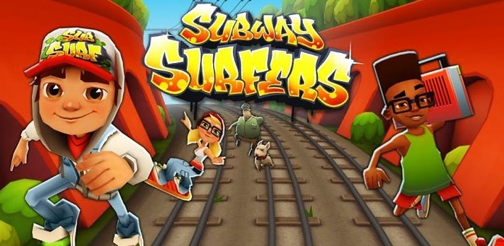 Aplicativos para celular - subway surfer