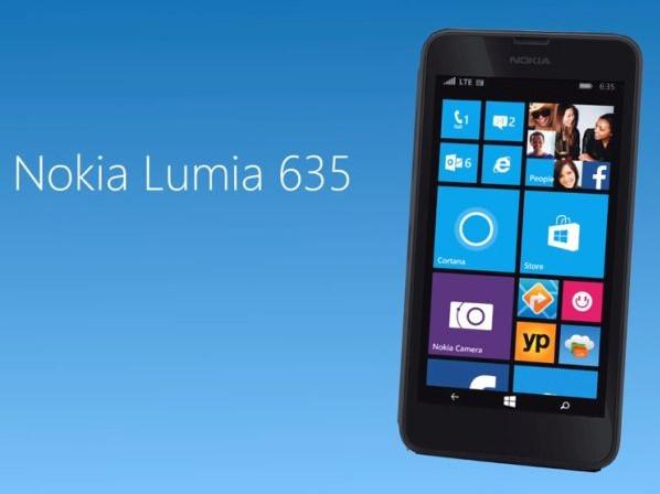 lumia 635 da microsoft