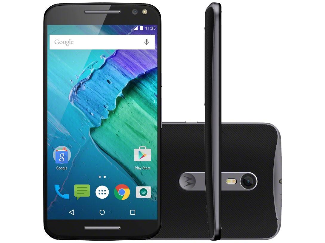 Galaxy A5 ou Moto X - Tela