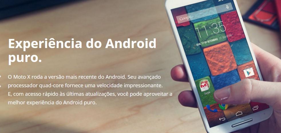 Galaxy A5 ou Moto X - desempenho