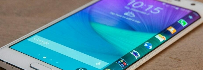 Smartphones mais rápidos do mundo - Galaxy S6 Edge