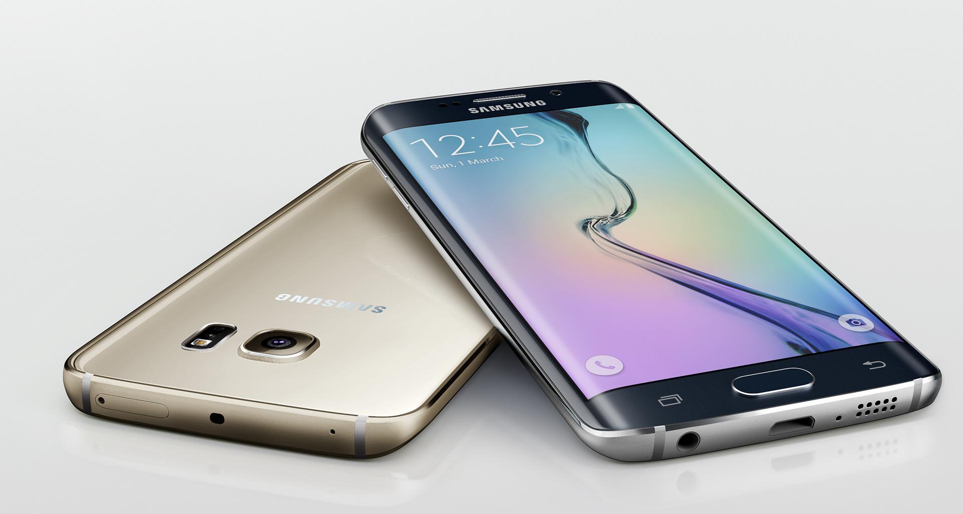 Smartphones mais rápidos do mundo - Samsung Galaxy S6 Edge+