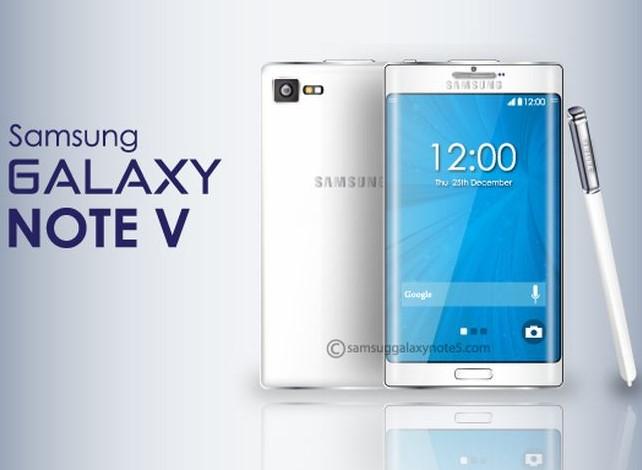 smartphones mais rápidos do mundo - samsung galaxy note 5