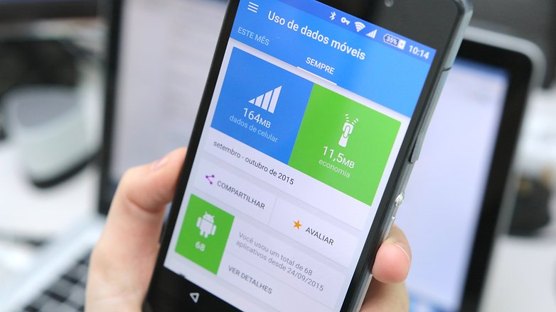 dicas android para limitar o uso de dados móveis