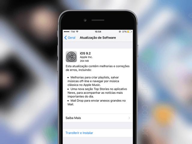 dicas android e ios atualização do sistema