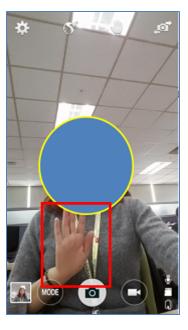 Dicas android para tirar selfie com a palma da mão