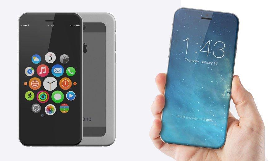Suposto design do iPhone 7