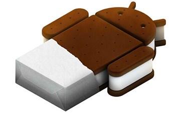 atualização do sistema operacional android ice cream sandwich