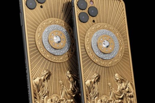 Celular mais caro do mundo: iPhone 11 Pro Max 512gb em ouro e diamantes