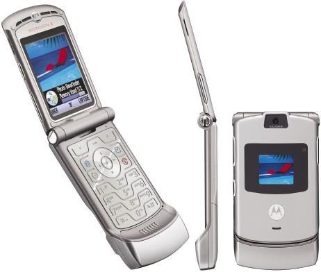 celulares mais vendidos Motorola RAZR V3