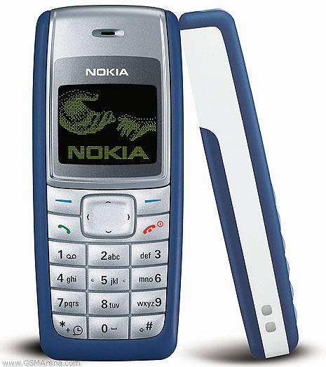 segundo celular mais vendido de todos os tempos Nokia 1110