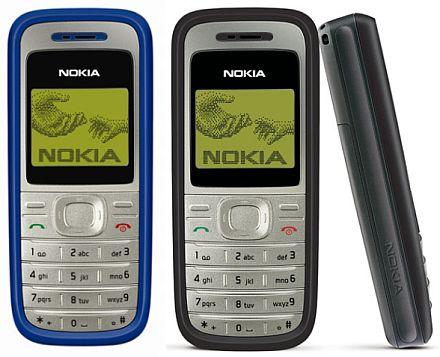 celulares mais vendidos Nokia 1200
