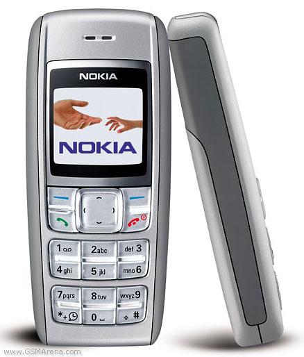 celulares mais vendidos Nokia 1600