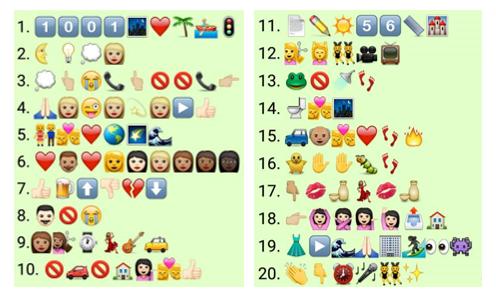 desafio do teclado emoji