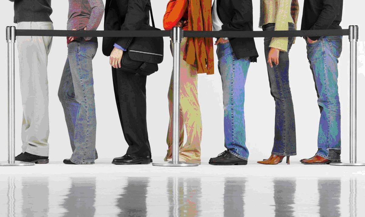 fila de banco evitada pelos aplicativos de bancos