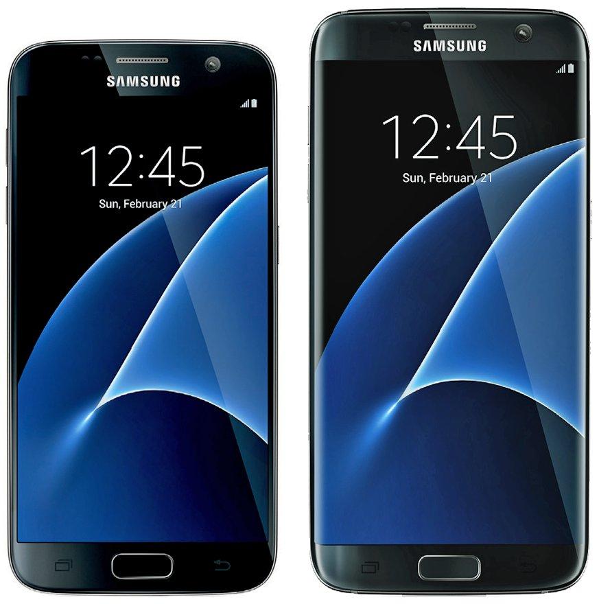 smartphones samsung galaxy s7 e galaxy s7 edge