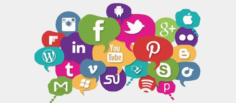 integração dos aplicativos de bancos com as redes sociais