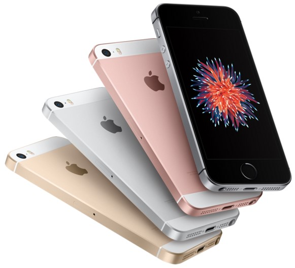 cores do novo iPhone SE da Apple