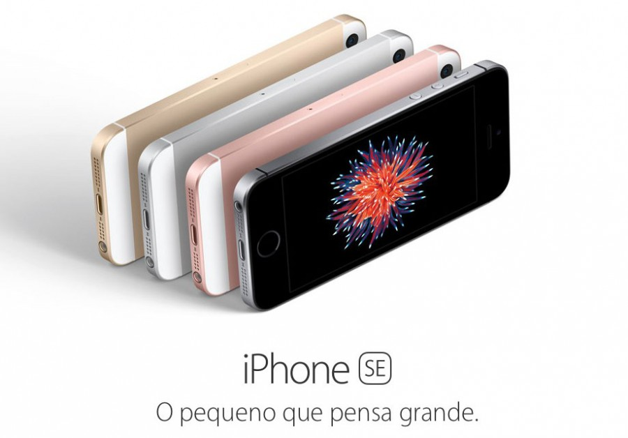 iphone se slogan o pequeno que pensa grande