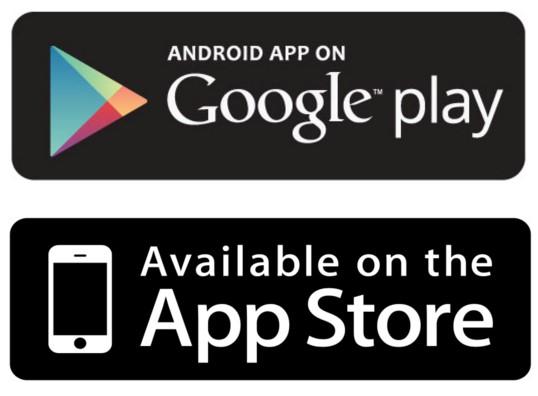 aplicativos oficiais app store e google play