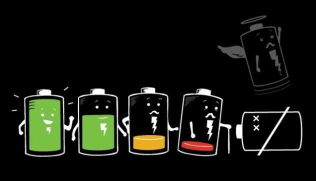 bateria do smartphone galaxy a e iphone se